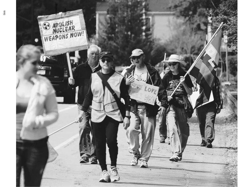 30 mile non violence walk