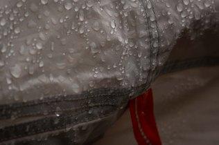 tent's droplets