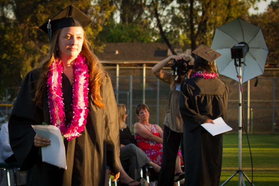 newly photographed graduate