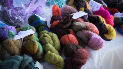 colorful home spun