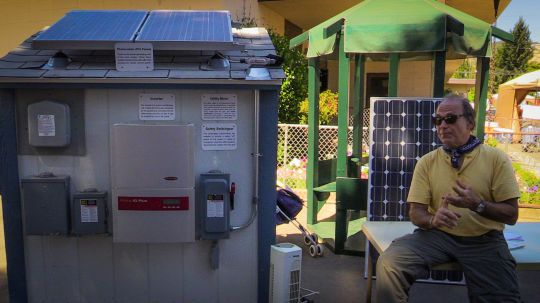 solar panels, inverter, et al