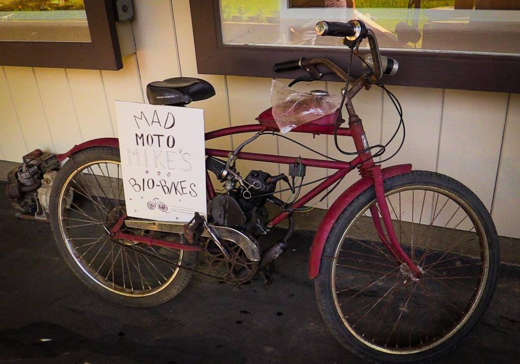 bio bike power