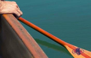 gunwales & paddle