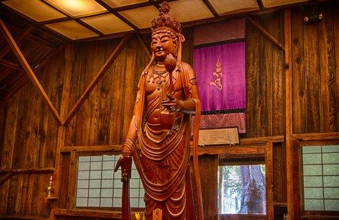 bodhisattva in pine