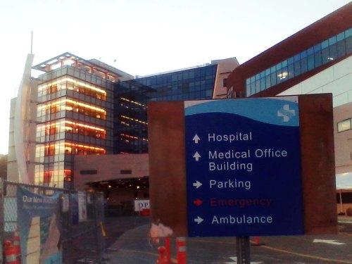 new hospital aglow