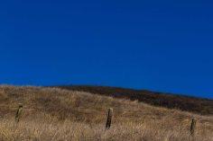 sky blue hill