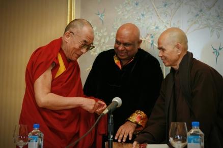 Dalai Lama & Thich Nhat Hanh 2007