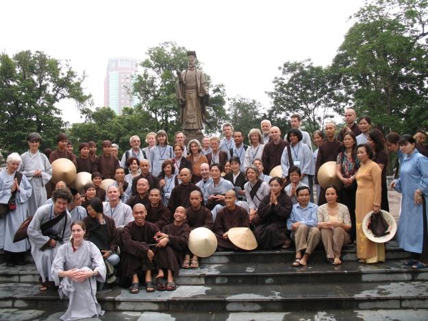 Thich Nhat Hanh & us, Hanoi 2007