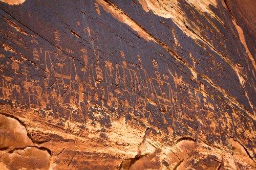 Butler Wash petroglyph