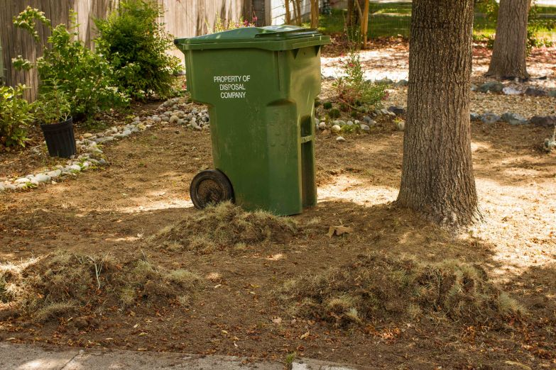 lawn disposed of