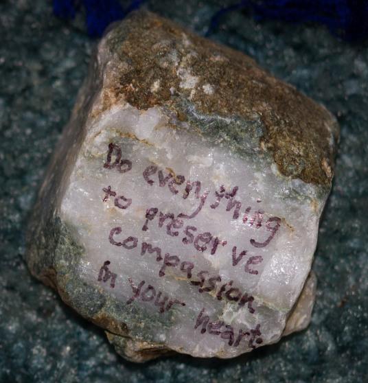 compassion rock
