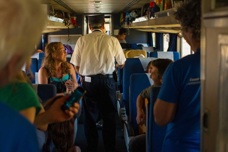 singing on the climate train
