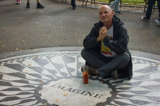 imagining at strawberry fields