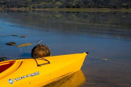resting kayak