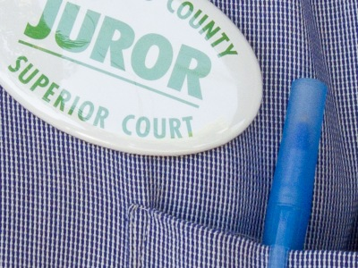 jury badge