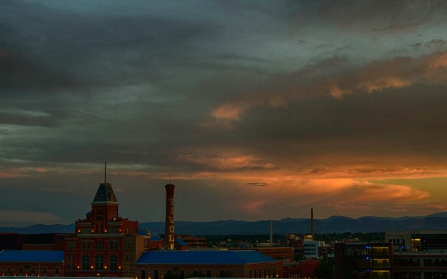 Denver sunset2