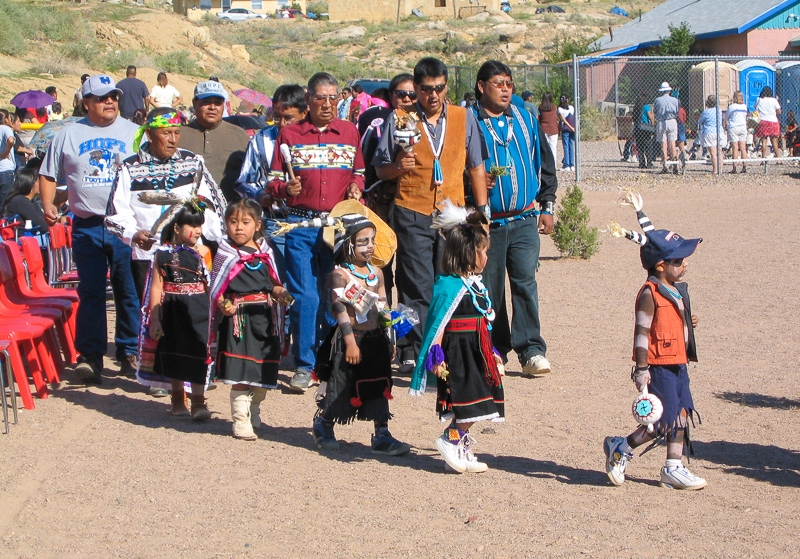 Hopi elders sing to young ~d nelson