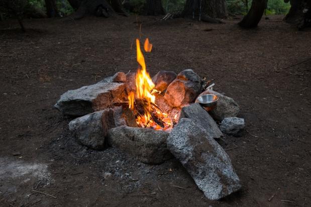 alps campfire