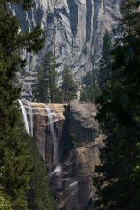 vernal falls at low water