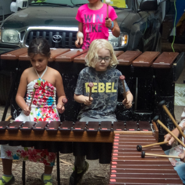 one note, marimba