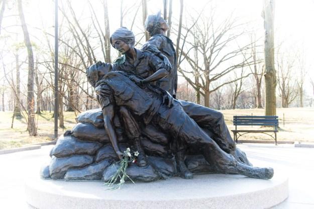 woman's VN memorial