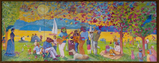joyful we are the mural ~d nelson