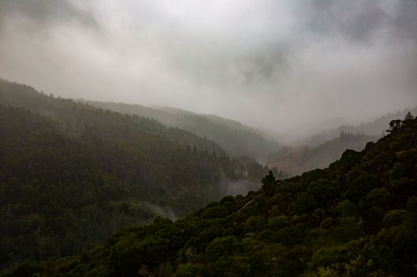 rain in the valley