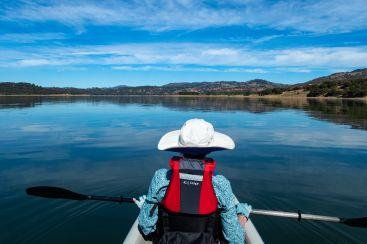 paddle meditation moment